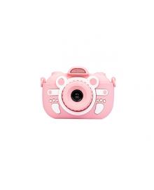 Цифровой детский фотоаппарат XOKO KVR-300 с сенсорным дисплеем розовый (KVR-300-PN) ХоКо