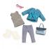 Набор одежды для кукол Lori Пальто Блакитний (LO30005Z)