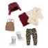 Набор одежды для кукол Lori Теплый жакет с шапкой (LO30006Z)