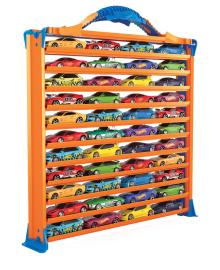 Игровой гараж с дорожками для хранения машинок Hot Wheels HWCC9, 4893825028917