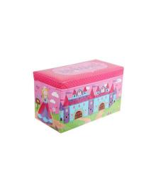 Корзина ящик-пуф для игрушек MR 0362-6 (Замок)