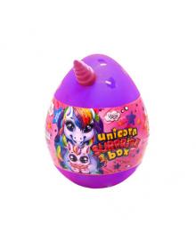 "Набор креативного творчества яйцо ""Unicorn Surprise Box"" USB-01-01U (Фиолетовый)"