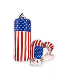 "Детский боксерский набор МАЛ ""Америка"" 0001 S-USA"