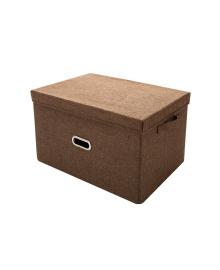 Корзина для игрушек складная MR 0339-4 (Brown)
