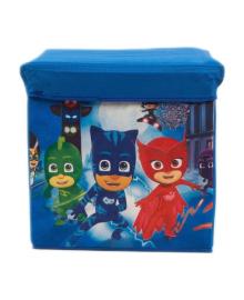 Корзина-пуфик корзина для детских игрушек  M 5765 (Герои в масках)