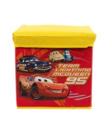 Корзина-пуфик корзина для детских игрушек M 5765 (Тачки)