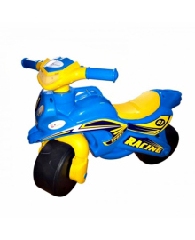 Толокар мотоцикл Doloni 0139/1/6 музыкальный (голубой)