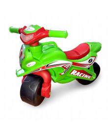 Толокар мотоцикл Doloni 0139/1/6 музыкальный (зеленый) 0139/5