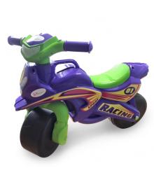Толокар мотоцикл Doloni 0139/1/6 музыкальный (фиолетовый) 0139/6