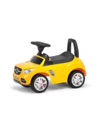 Детская машина-толокар MB  2-001  со спинкой (Желтый) 2-001-Y