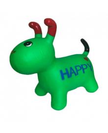 Детская  игрушка прыгун собака BT-RJ-0072 резиновый (Green) BT-RJ-0072(Green)