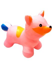 """Игрушка-прыгун """"Лисица"""" BT-RJ-0074 Надувная (Розовый) BT-RJ-0074(Pink)"""