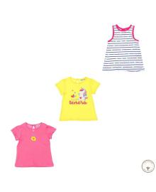 Набор футболок и майки BluKids Bio Cotton Tenera 3 шт 5721585, 8059301128199