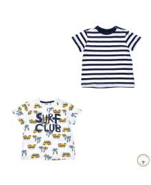 Набор футболок BluKids Bio Cotton Surf Club 2 шт 5722115, 8059301133452