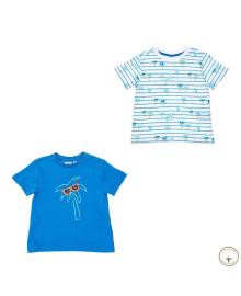 Набор футболок BluKids Bio Cotton Sunglasses 2 шт 5722195, 8059301134749