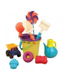 Игрушка для песочницы и пляжа Battat сумочка Лайм с аксессуарами BX1307Z
