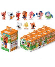 СВИТБОКС МИ-МИ-МИШКИ 4 Мармелад с игрушкой в коробочке