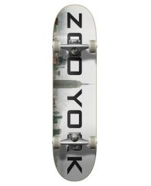 "Скейтборд Zoo York Logo Block Complete Skateboard 7.75"" Fog"