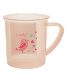 Чашка Lindo Розовая 150 мл