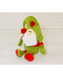 Мягкая игрушка Kidsqo гномик Санта 53см оливково-красный (KD1773)