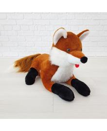 Мягкая игрушка Zolushka Лиса 58см рыжая (ZL075)