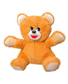 Мягкая игрушка Zolushka Медведь Умка травка 48см рыжий (ZL1081)
