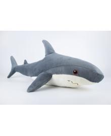 Мягкая игрушка Kidsqo Акула 52см серая (KD6682)