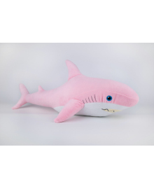 Мягкая игрушка Kidsqo Акула 52см розовая (KD6681)