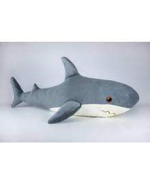 Мягкая игрушка Kidsqo Акула 107см серая (KD6691)