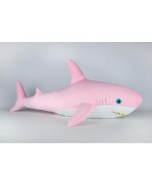 Мягкая игрушка Kidsqo Акула 107см розовая (KD6692)