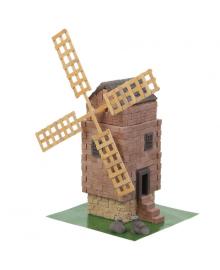 Керамический конструктор Wise Elk из мини-кирпичиков Старая мельница (70620)