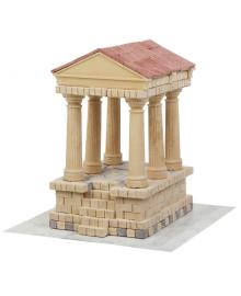 Керамический конструктор Wise Elk из мини-кирпичиков Римский храм (70576)