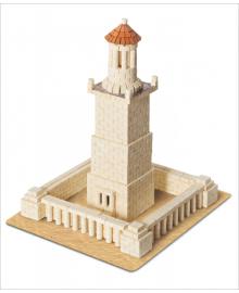 Керамический конструктор Wise Elk из мини-кирпичиков Александрийский маяк (70323)