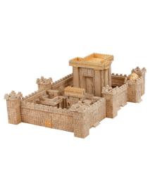 Керамический конструктор Wise Elk из мини-кирпичиков Иерусалимский храм (70590)