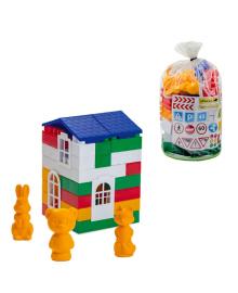 Пластиковый конструктор Colorplast Лидер №1 50дет. (1-219)