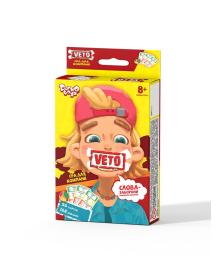 Игра настольная Danko Toys VETO мини карточная (GDTVETO100)