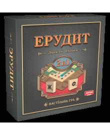 Игра настольная Artos Games ЭРУДИТ 2в1 (GAG10018)
