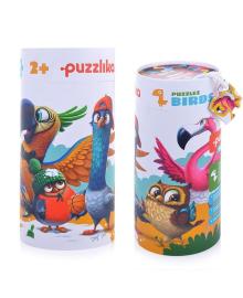Пазлы Puzzlika 5 в 1 Птички 25 элементов (14255)