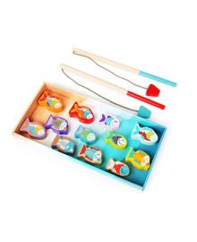 Деревянная игрушка Cubika Рыбалка 14 деталей (13739)