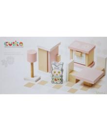 Деревянный игрушечный набор Cubika Мебель 3 10 деталей (13975)