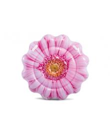 Плотик-матрас надувной Intex Розовый цветок 142 см (58787)