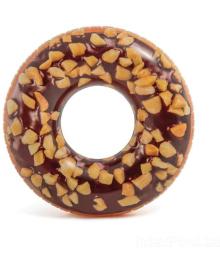 Круг надувной Intex Шоколадный пончик 114 см (56262)