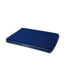 Матрас надувной Intex Велюр 191х137см синий (68758)