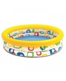 Бассейн детский надувной Intex Радужное омбре 168x38 см (58449)