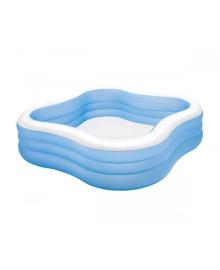 Бассейн детский надувной Intex Акварена 229х229х56 см (57495)