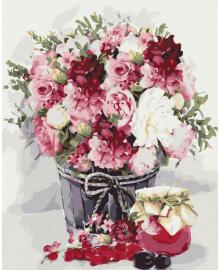 Картина для рисования по номерам Art Craft Сладкий букет 40х50см (12093-AC)