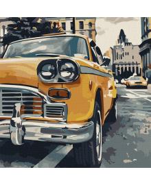 Картина для рисования по номерам Art Craft Особое такси 40х40см (10518-AC)
