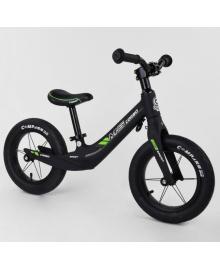 Беговел Corso чёрно-зелёный (CRS55960)