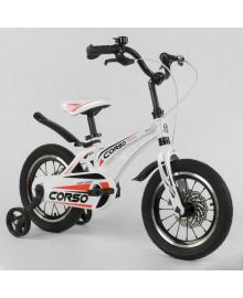 Велосипед детский Corso 14 дюймов белый (MG14S499)
