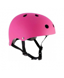 Шлем защитный ролики-самокат размеры XXS-M sfr Fluo Pink 26251